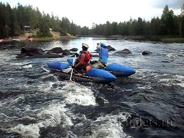 Отчёт о водном походе III к.с. по реке Охта (северная Карелия)