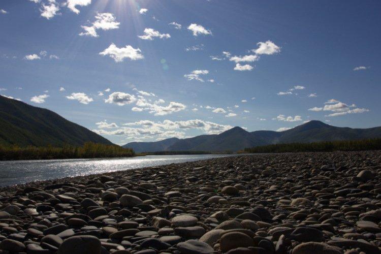 Якутия 2014г. Водный поход по рекам Брюнгяде (Нэрэгэдье) - Кюенте - Индигирке